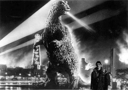 At Godzilla's rampage.