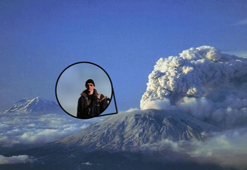 At the eruption of Mount St. Helens