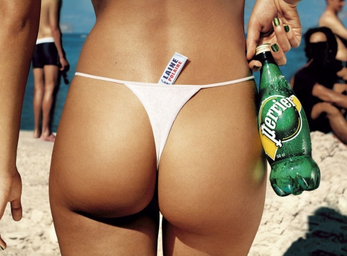 This is what a thong is supposed to look like.