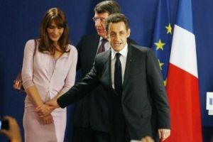 French President Nicholas Sarkozy