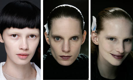 Models Katrin Thormann, Iris Strubegger, & Ranya Mordanyova. Photos curtesy of Catwalking.com
