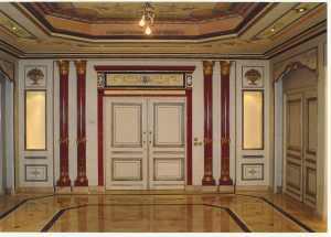 A Saudi palace interior.