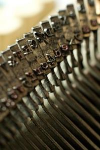 vintage typewiter letters Nir Tober